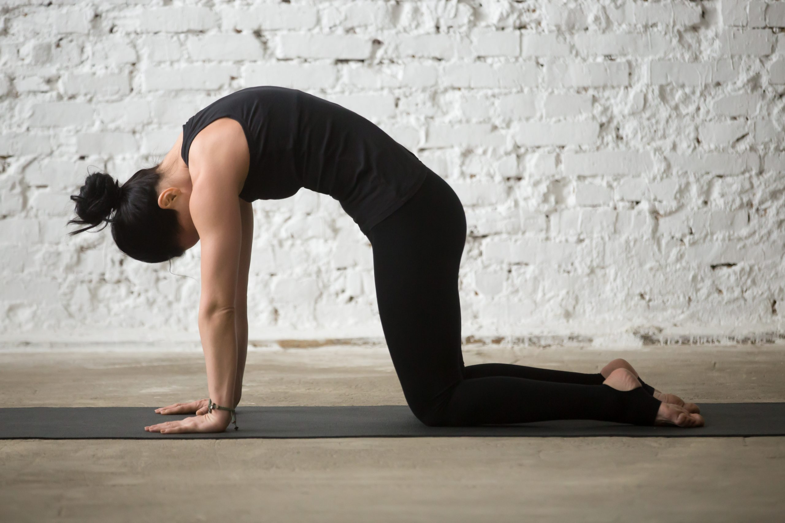 6 Yoga Poses to try for Back Pain - Cat Pose